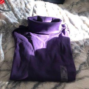 Purple turtle neck NWT